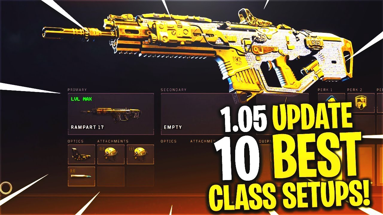 10 BEST CLASS SETUPS AFTER COD BO4 1 05 UPDATE! - BEST CLASS SETUP AFTER  UPDATE! (BEST CLASSES BO4)