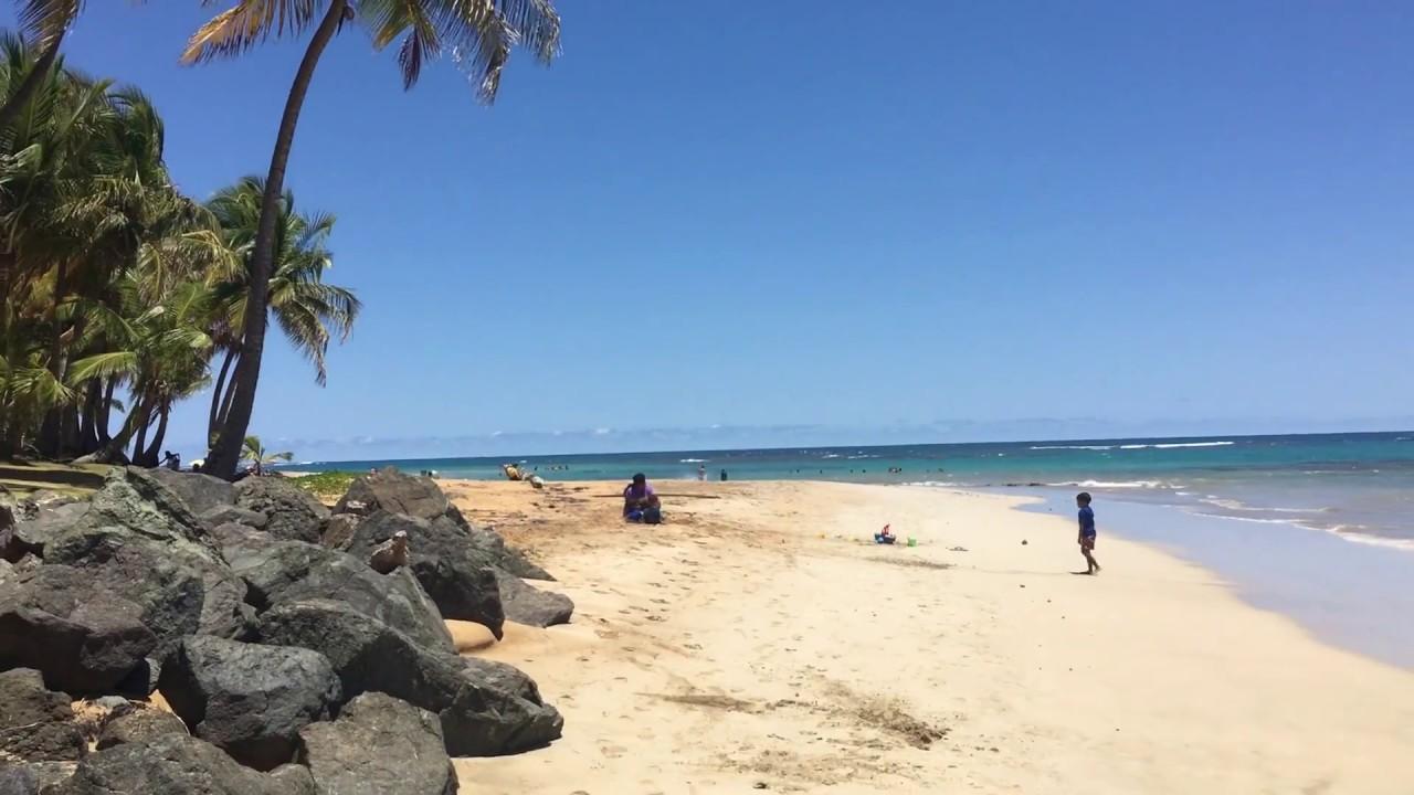 Beautiful Beach Playa Azul In Luquillo Puerto Rico