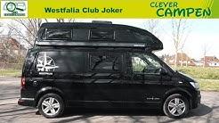 Westfalia Club Joker (2020): Was kann der Hochdachcamper mit Nasszelle? -Test/Review | Clever Campen