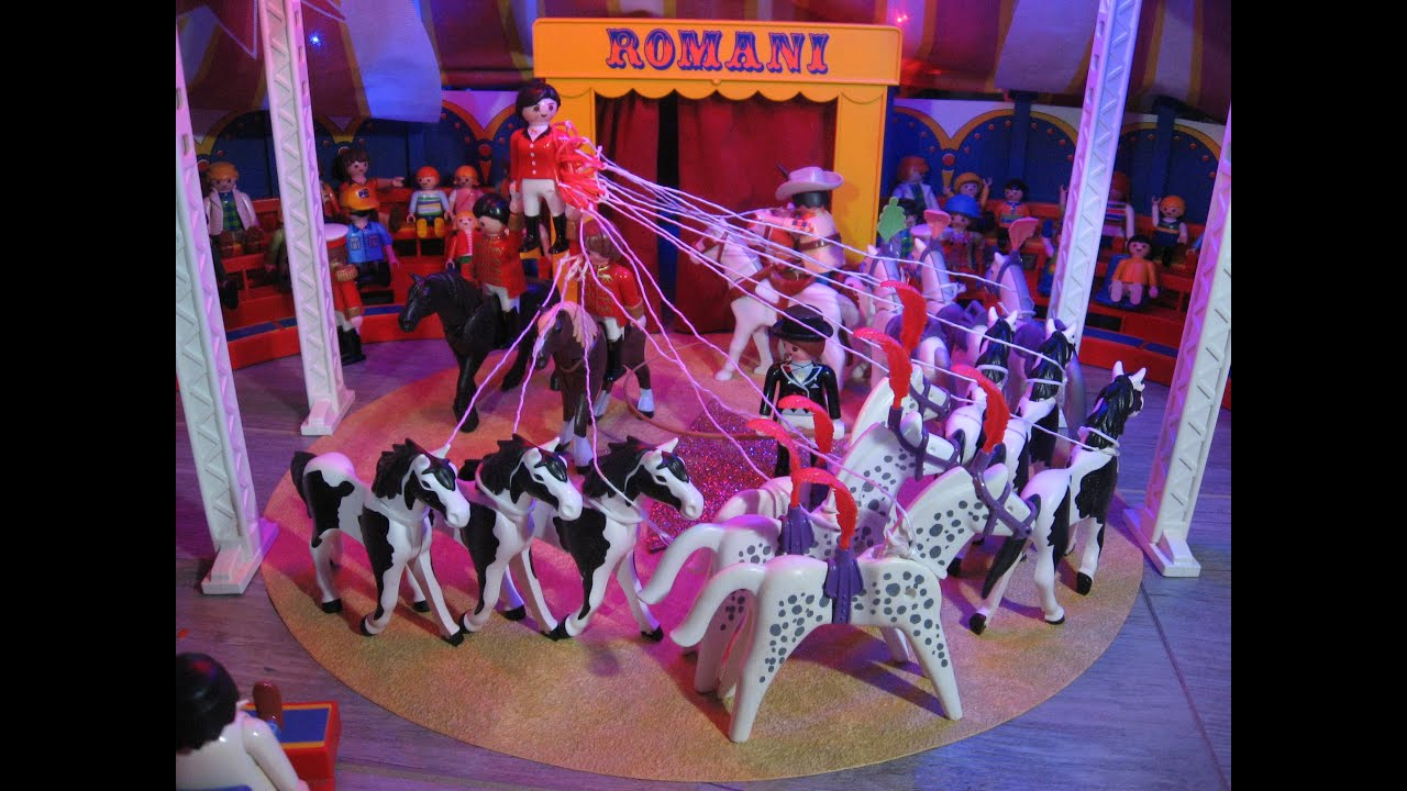 Spectacle cirque robert romanie 2016 partie 1 marseille - Cirque playmobil ...
