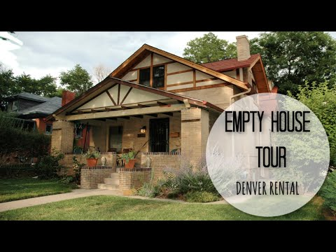 EMPTY HOUSE TOUR / OUR NEW DENVER HOME