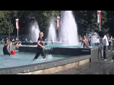 Lausanne  Bataille d'eau 2012