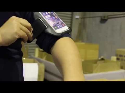 Belkin Sport-Fit Armband for iPhone 6 Unboxing