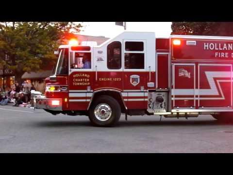 Holland City Fire Prevention Parade