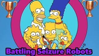 The Simpsons Arcade Game- Battling Seizure Robots Trophy