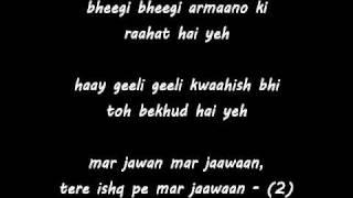 Mar Jawan - Fashion - badmash remix with Lyrics. By Sameer Butt flv