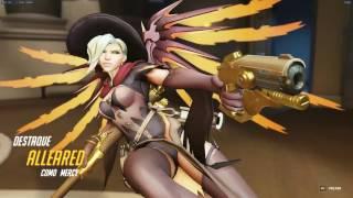 Overwatch Gameplay Mercy - Hanamura