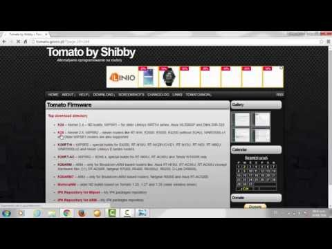 Como instalar el Firmware Tomato By Shibby en un router NETGEAR