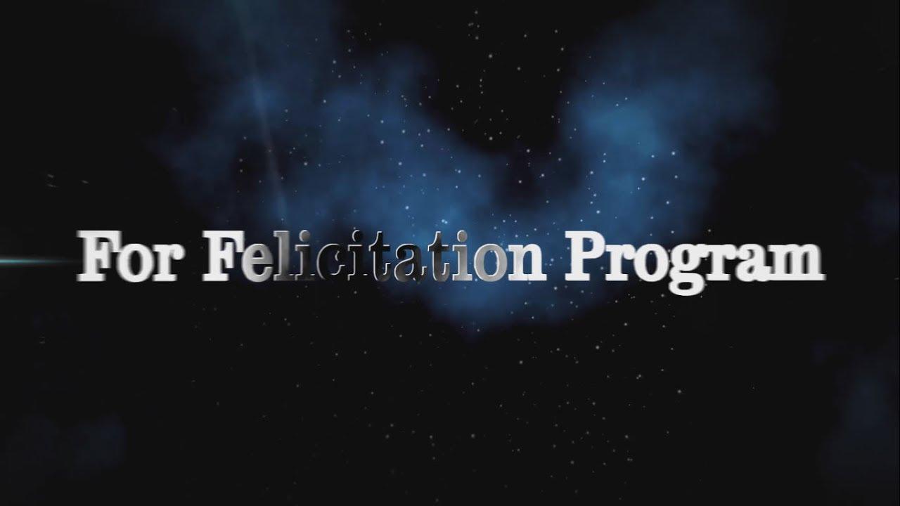 Felicitation Invitation YouTube