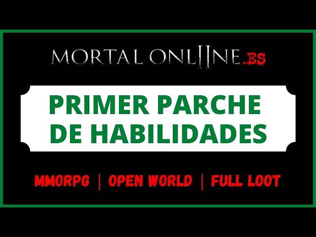 ✮ Mortal Online 2 Comunidad Hispana【PRIMER PARCHE DE HABILIDADES】MMORPG Sandbox Open World