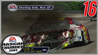 THE WHOLE FIELD CRASHED ON THE PACE LAP | NASCAR Thunder 2004 Career Mode Ep. 16