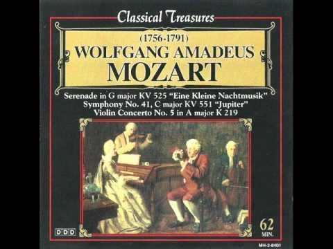 Mozart - (3) Symphony No  41 in C Major