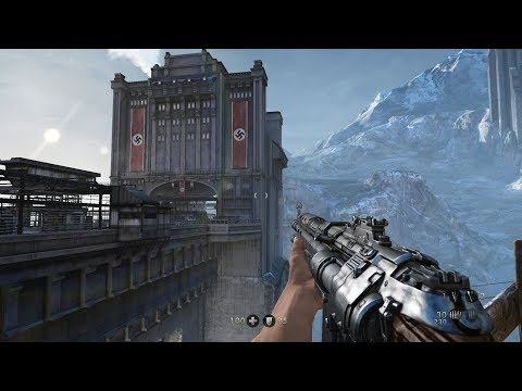 DARING ESCAPE From Castle Wolfenstein ! Cool WW2 FPS Game Wolfenstein The Old Blood
