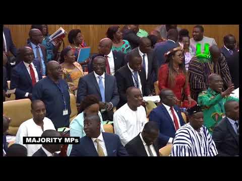 Members of Parliament lyrical 'battle' over 2018 Budget presentation