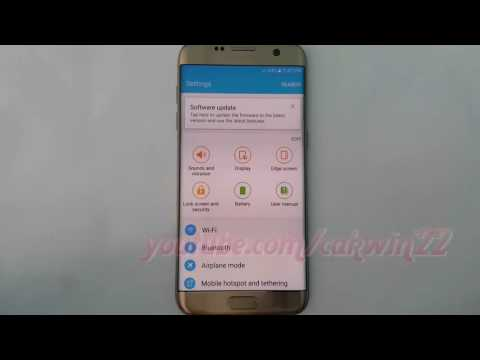 Samsung Galaxy S7 Edge How To Enable Or Disable Android Device Manager Android Marshmall