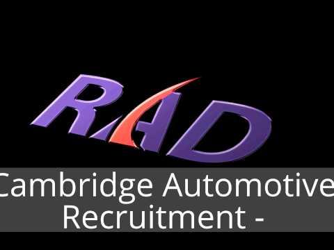 Cambridge Automotive Recruitment - 01223 39 89 79