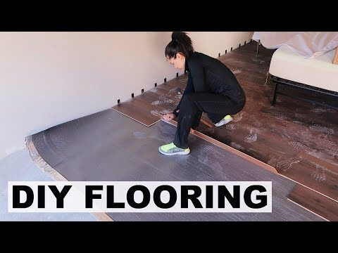 DIY FLOOR TRANSFORMATION | Marie Jay