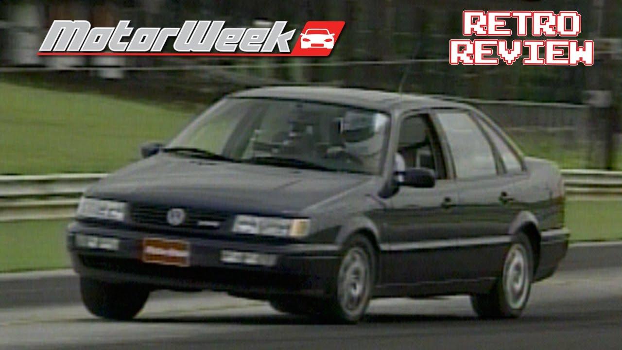 Retro review 1995 vw passat glx