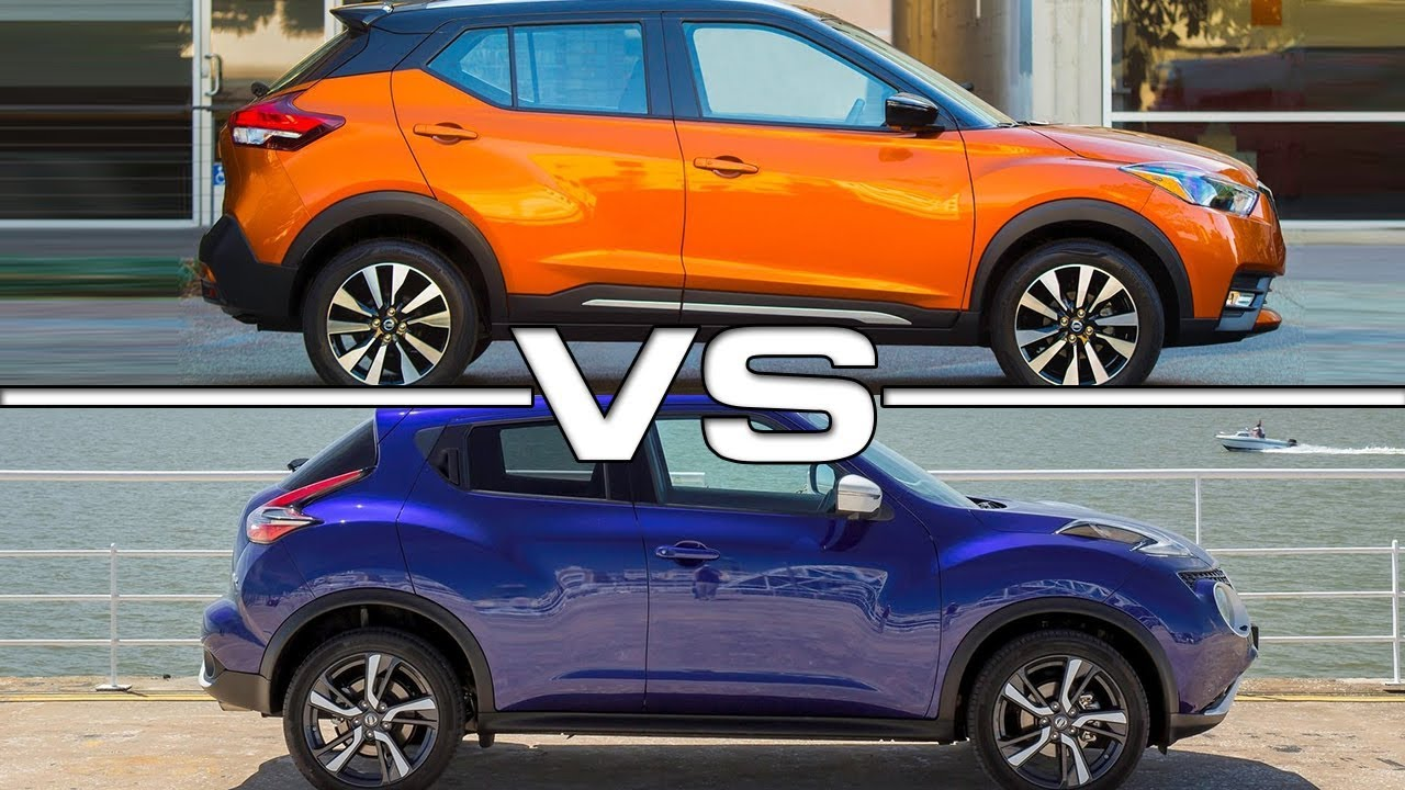 2018 Nissan Kicks vs 2017 Nissan Juke - YouTube