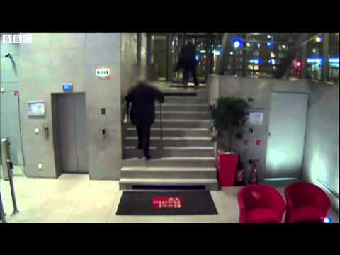 BBC News   Paris gun attacks  Liberation and Societe Generale hit 3