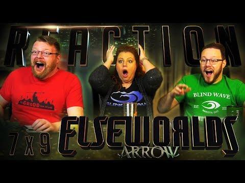 """Arrow 7x9 REACTION!! """"Elseworlds, Part 2"""""""