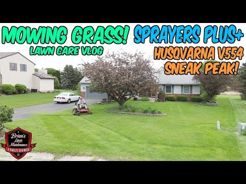 Lawn Vlog ► Tons Of Updates ► Hanging w/ Brandon Truck Talk, Mowing A New Client ► +New Partnership!