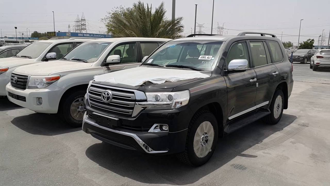 New Cars From Dubai Toyota In Dubai Youtube