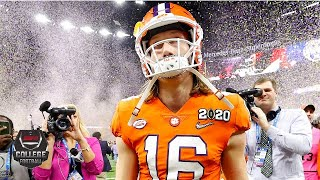 Trevor Lawrence has mixed game in Clemson's CFP loss vs. LSU   College Football Highlights