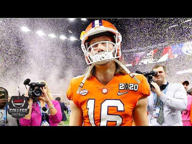 Trevor Lawrence has mixed game in Clemson's CFP loss vs. LSU | College Football Highlights