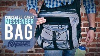 GRAYMAN CARRY- Concealed Carry Messenger Bag(, 2016-08-11T04:35:39.000Z)
