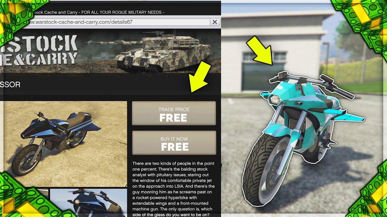 How To Get Oppressor For Free! New Gta 5 Online Money Glitch (gta 5 Online)