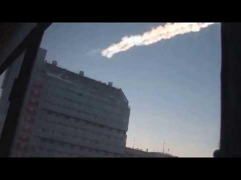 Падение метеорита в Челябинске Полная версия - Meteorite fall in Chelyabinsk