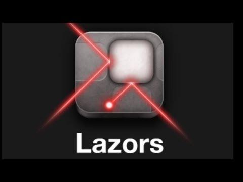 Lazors - Prismatic - Level 1-10 Walkthrough (iphone, Android, ipad)
