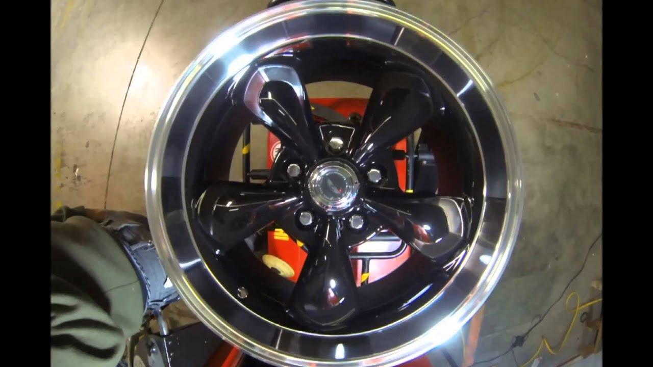 American Racing Ar105 Torque Thrust 2 Black Machined Youtube