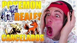 HISTÓRICO Pokémon CANCELADOS que FUERON REALES