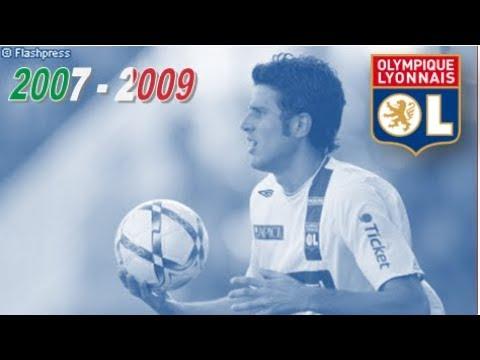 FABIO GROSSO ○ OLYMPIQUE LYONNAIS ○ 2007 - 2009 [HD]