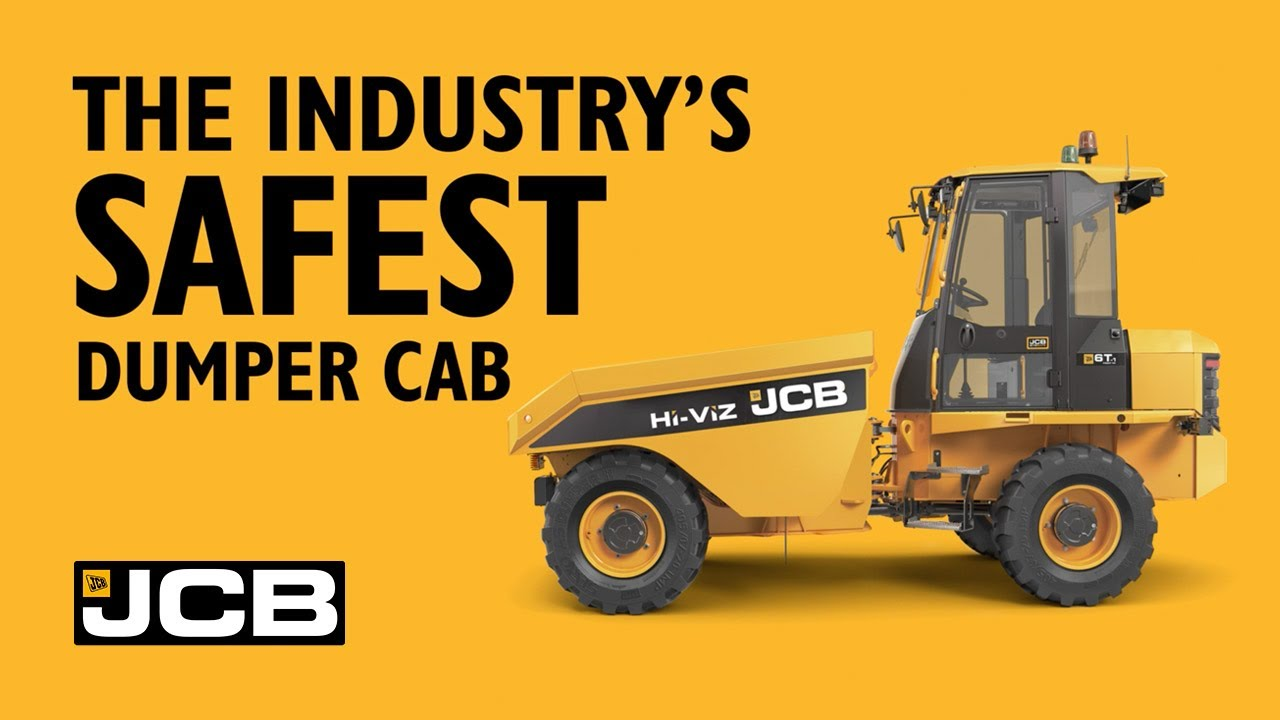 JCB Site Dumper SiTESAFE Cab Impact Testing FULL Video - The Industry's Safest