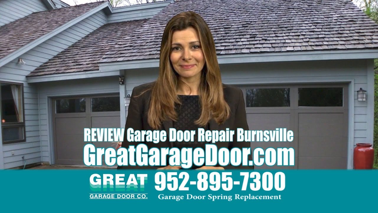 Garage Door Repair Burnsville MN | Overhead Door Replacement Minnesota