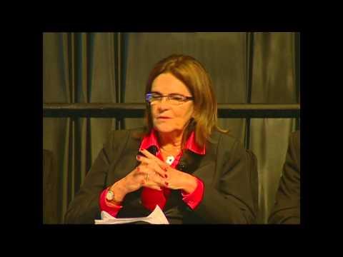 Maria das Graças Silva Foster, CEO, Petrobras talks OTC Brasil