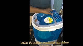 DMR Portable washing machine unboxing