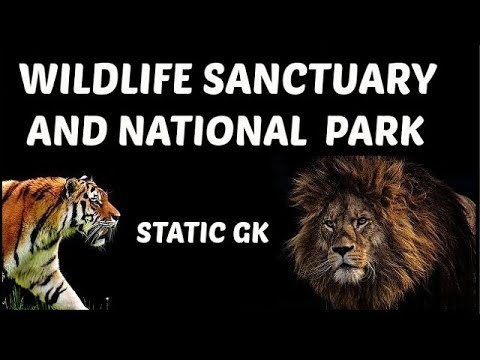 wildlife sanctuary and national park of India | Static Gk | for ssc,railway,bank and all other exams