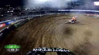 GoPro: Adam Cianciarulo - 2020 Monster Energy Supercross - 450 Main Event Highlights - Oakland