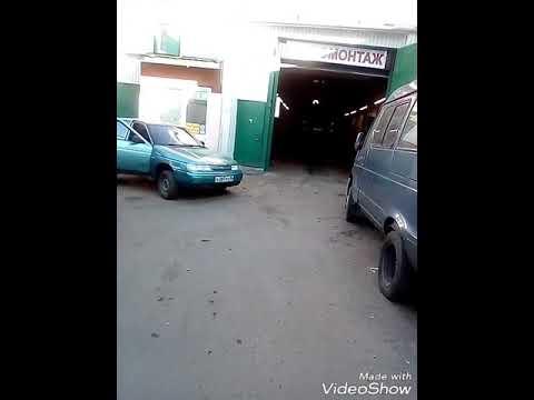 Горелка на отработке ЖУК 150, установка в автосервисе г.Балашиха, Московская область