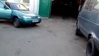 Горелка на отработке ЖУК 150 установка в автосервисе г.Балашиха Московская область