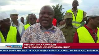 Waziri Kamwelwe aipa TAZARA siku 7 kununua mtambo wa kokoto