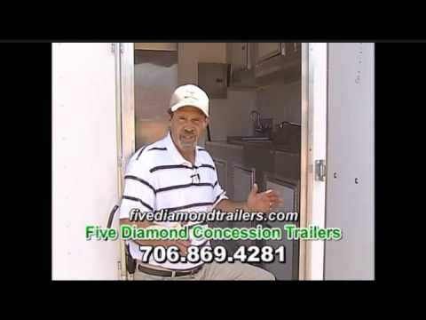 Concession Trailers for Sale in Georgia -  706-869-4281