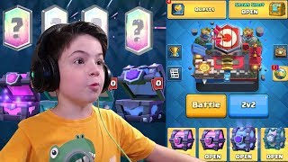 MASTER 1 - FULL CHEST OPENING - Clash Royale