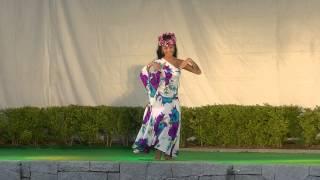 うたづ海ホタルで開催されたアロハナイトで香川アンバサダー高松観光大...