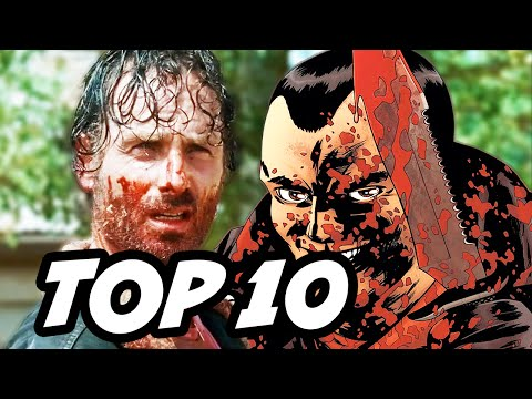 Walking Dead Season 6 Episode 11 - TOP 10 WTF and Easter Eggs