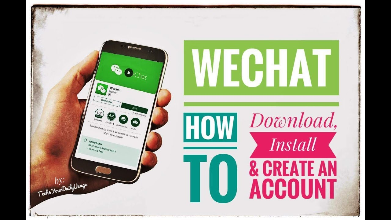 how to make wechat account